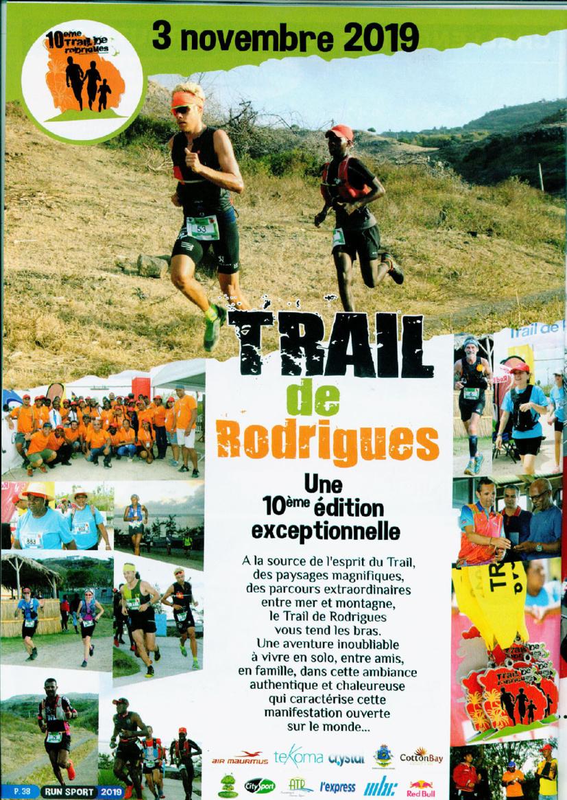 Trail de Rodrigues: David Hauss et Ludovic Pommeret, les retrouvailles...