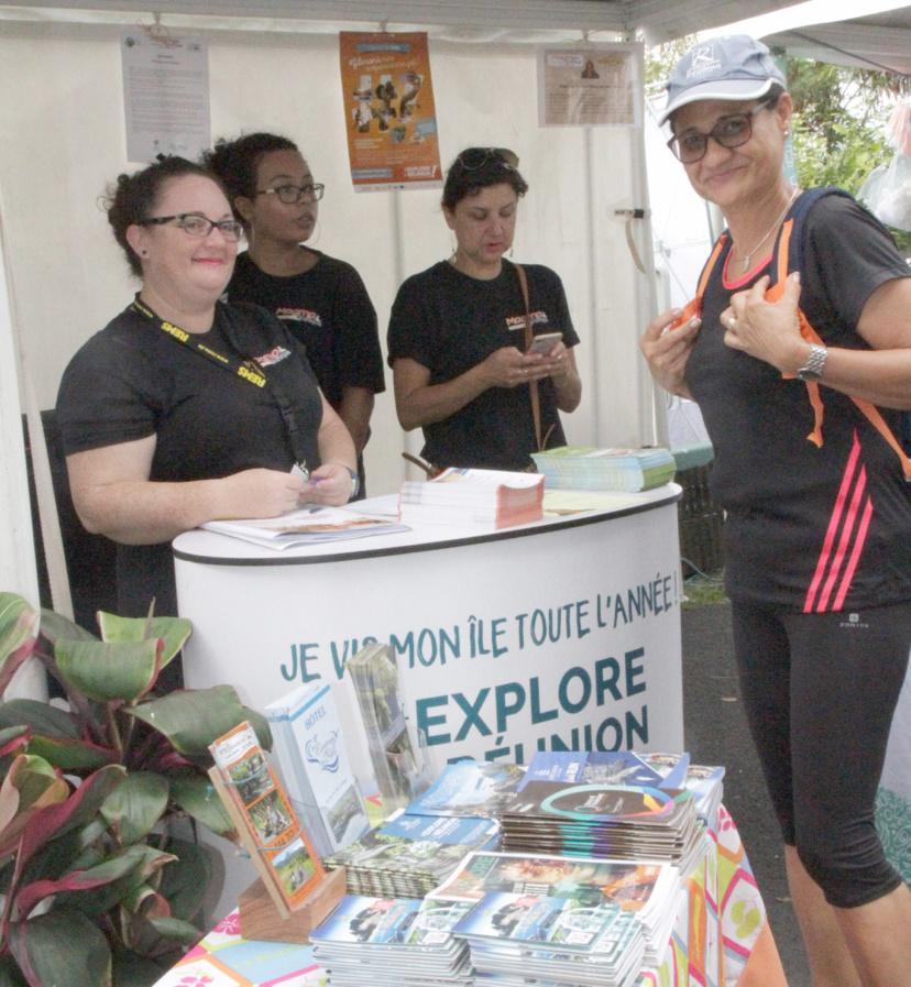 La Fédération Réunionnaise de Tourisme présente à la manifestation