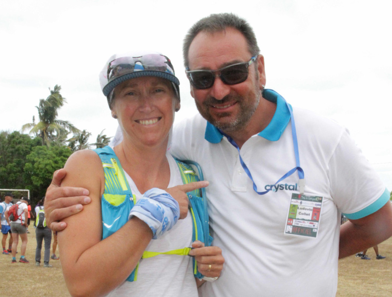 Céline Pommeret s'est classée 2ème de sa catégorie dans la course des 15 km