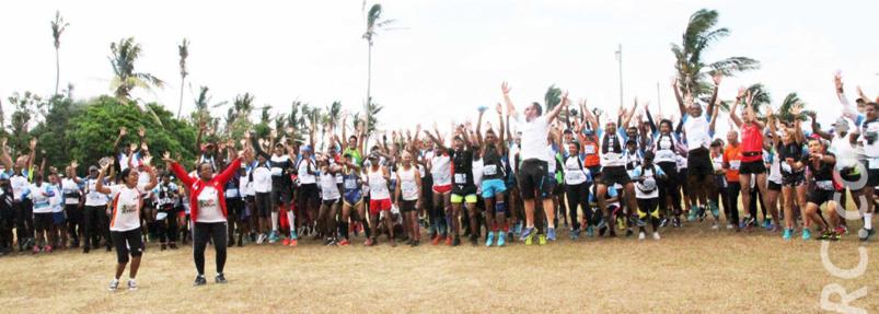 10ème Trail de Rodrigues:  Desveaux, Pommeret et Milazar en haut de l'affiche