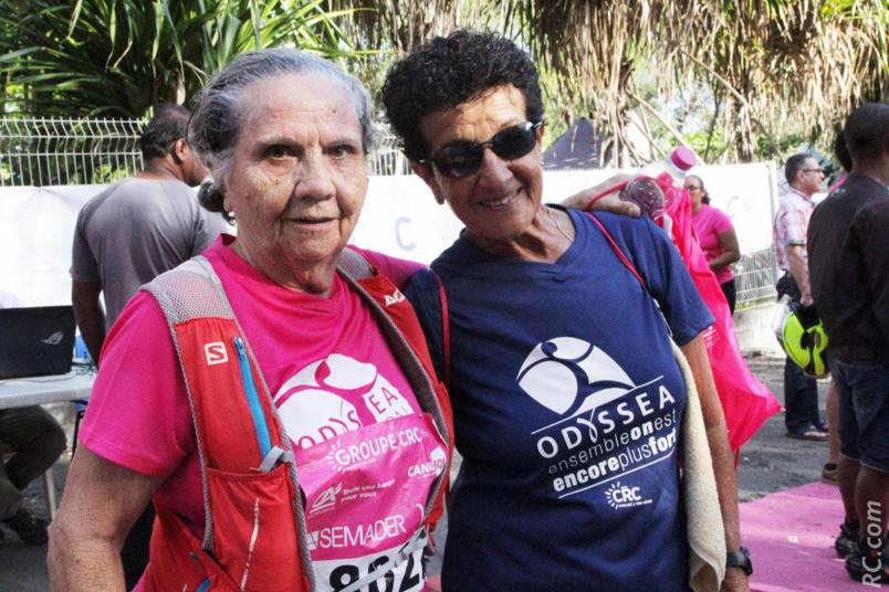 Marie-Thérèse et Rita, deux figures bien connues de la course à pied