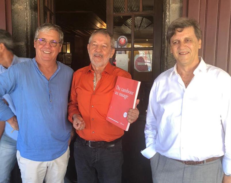 Luis Vieira, Daniel Vaxelaire et Alain Graulich