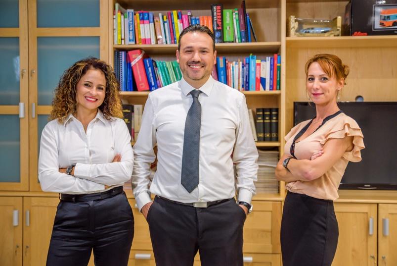 Karine Bertil, conseillère en gestion de patrimoine, Alexandre Alquier et Marie Nicolas, avocats d'affaires: les 3 associés de l'ARPAC