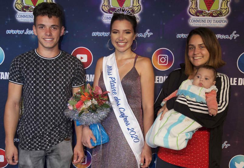Mélina Siby et sa famille