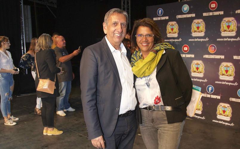 Aziz Patel et Corinne Lebon