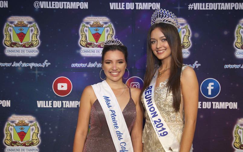 Miss Plaine des Cafres 2019 et Miss Réunion 2019