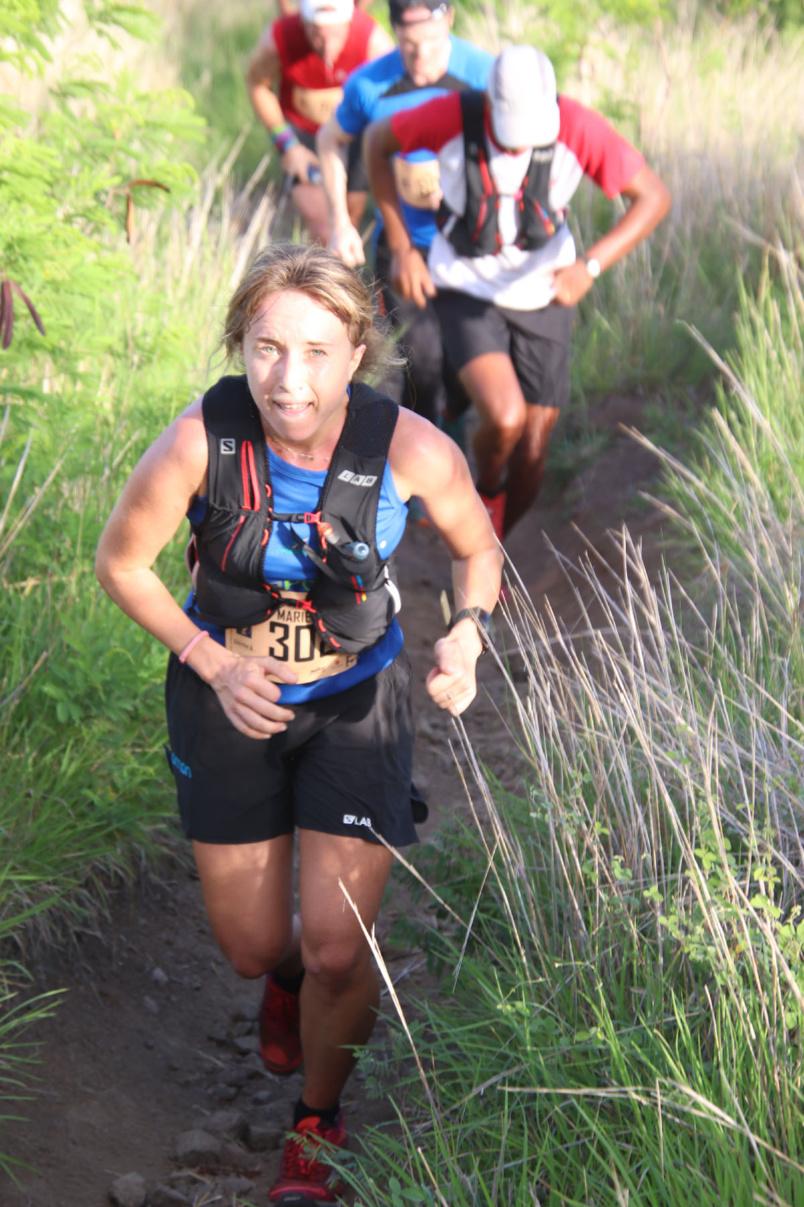 Marie Quillervéré première Dame sur les 15 km en 2019