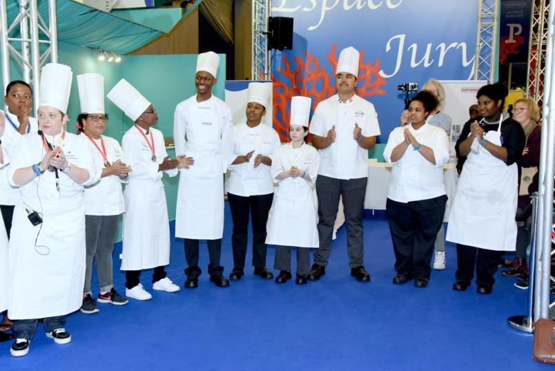 Salon Gastronomie Outre-mer à Paris: quelques Réunionnais y étaient