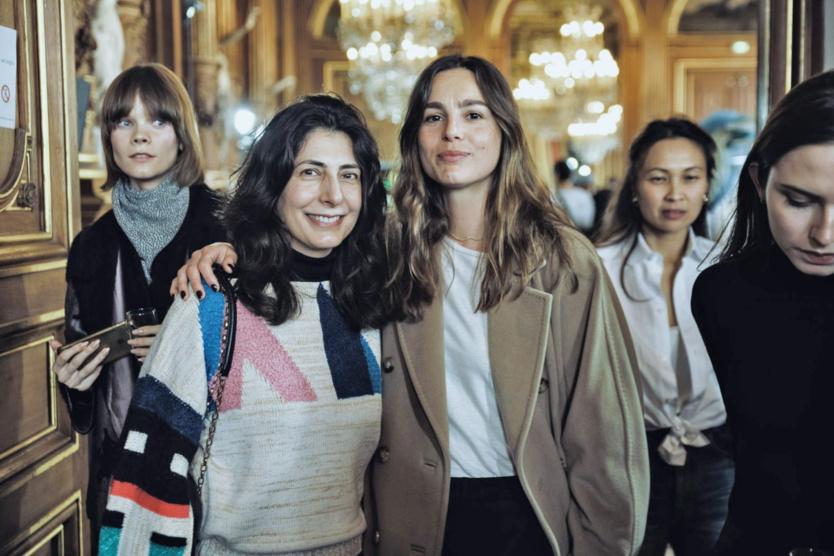 Yasmine Eslami et Eléonore Toulin