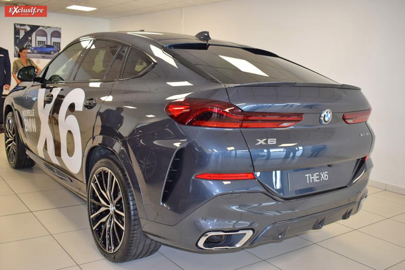 Le X6 a bénéficié de plusieurs changements esthétiques...