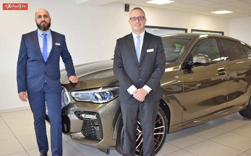 Damien Vally, responsable des Ventes Leal Réunion, et Philippe-Alexandre Rebboad, directeur général Leal Réunion