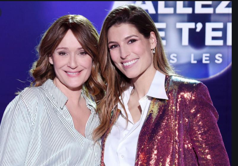 Daniela Lumbroso, productrice de l'émission, et Laury Thilleman, présentatrice