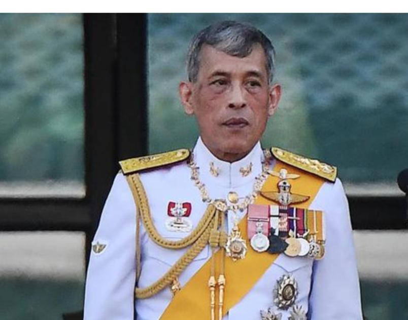 Rama X a accédé au trône en 2016, et il ne fait parler de lui que par ses frasques!