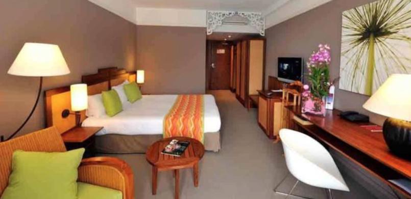 Une chambre au Créolia...