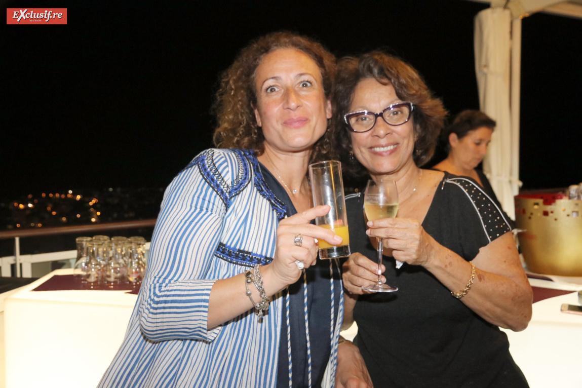 Annie Khayat-Tissier, avocate spécialisée en droit des affaires, et Christiane Albert, déléguée générale