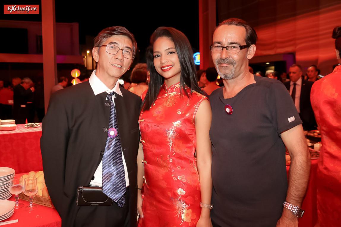 Fred Chane-Hune, Élodie Law-Thu, et Yann Leblais