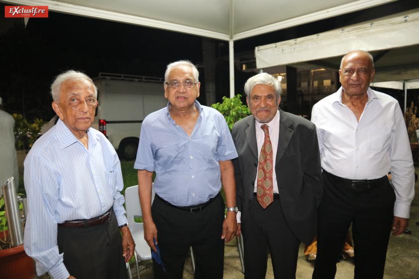 Issop Patel, Yacoub Gany, Ismaël Ravate et Abdoullah Motala