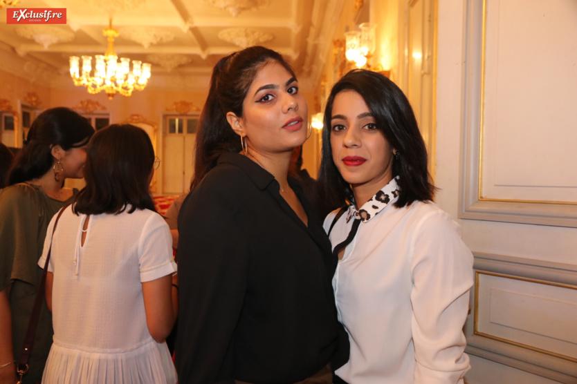 Sarah Ravate-Mohamed et Asna Ibrahim