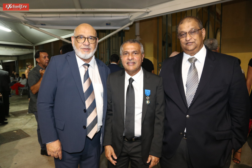 Houssen Vawda, Younous Ravate, et Ikbal Bayat