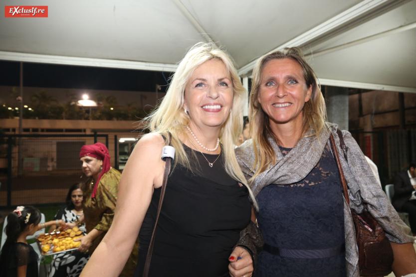 Evelyne Veil Charlanes, Consule de Norvège, et Nathalie Kubicek, Conseillère diplomatique adjointe auprès du Préfet
