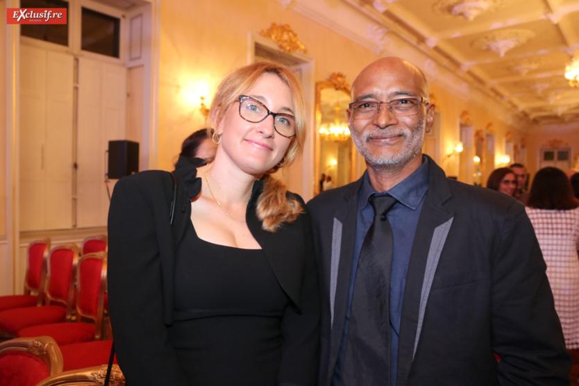 Clarisse Mazzola, urologue, et Settam, informaticien