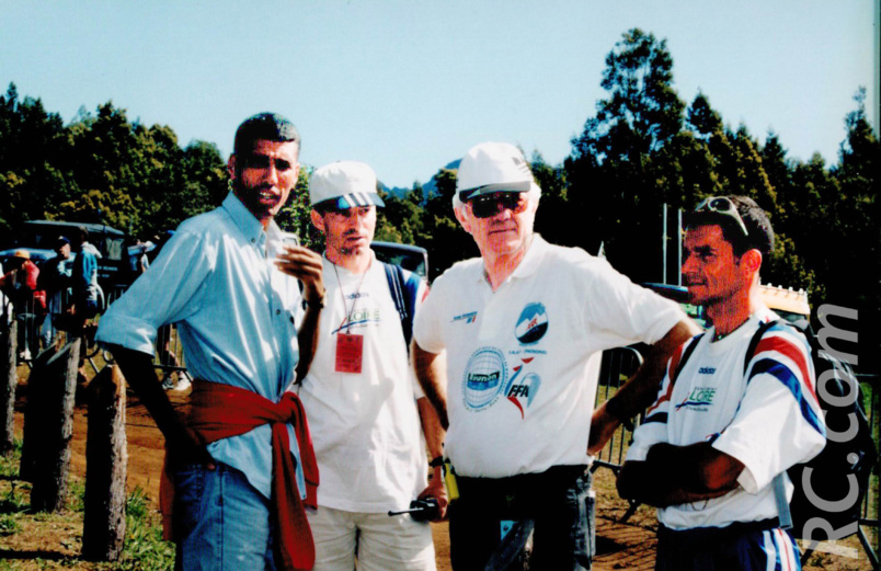 Jean-Louis Prianon a servi de relais avec l'équipe de France