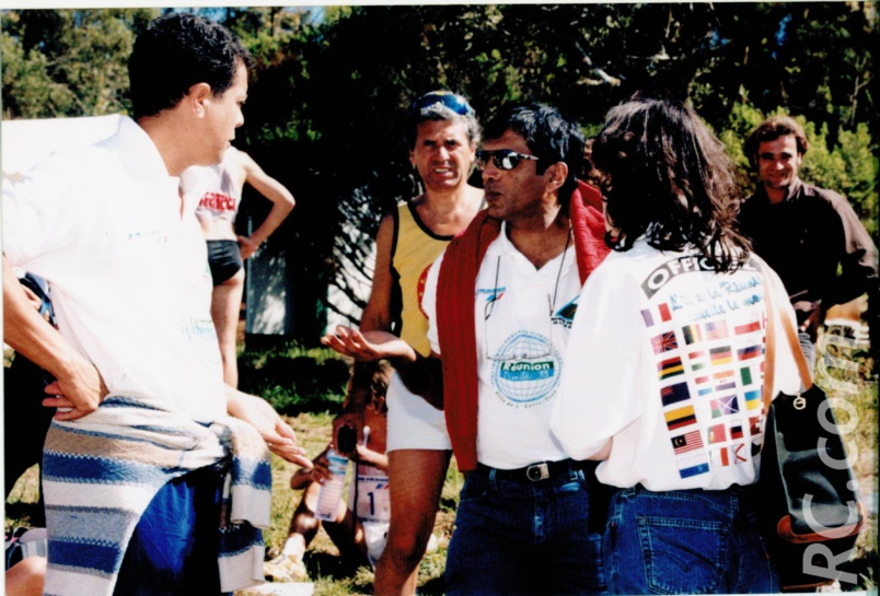 Fernand Payet (à gauche) et Ayoub Ingar