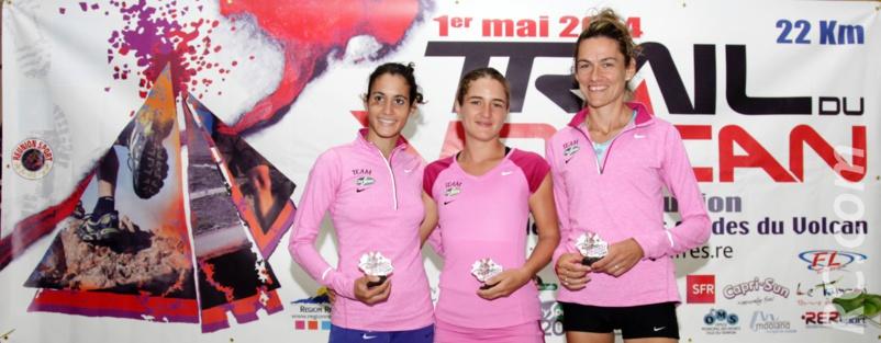 Frédérique Julian, Elisabeth Legros et Isabelle Lebreton