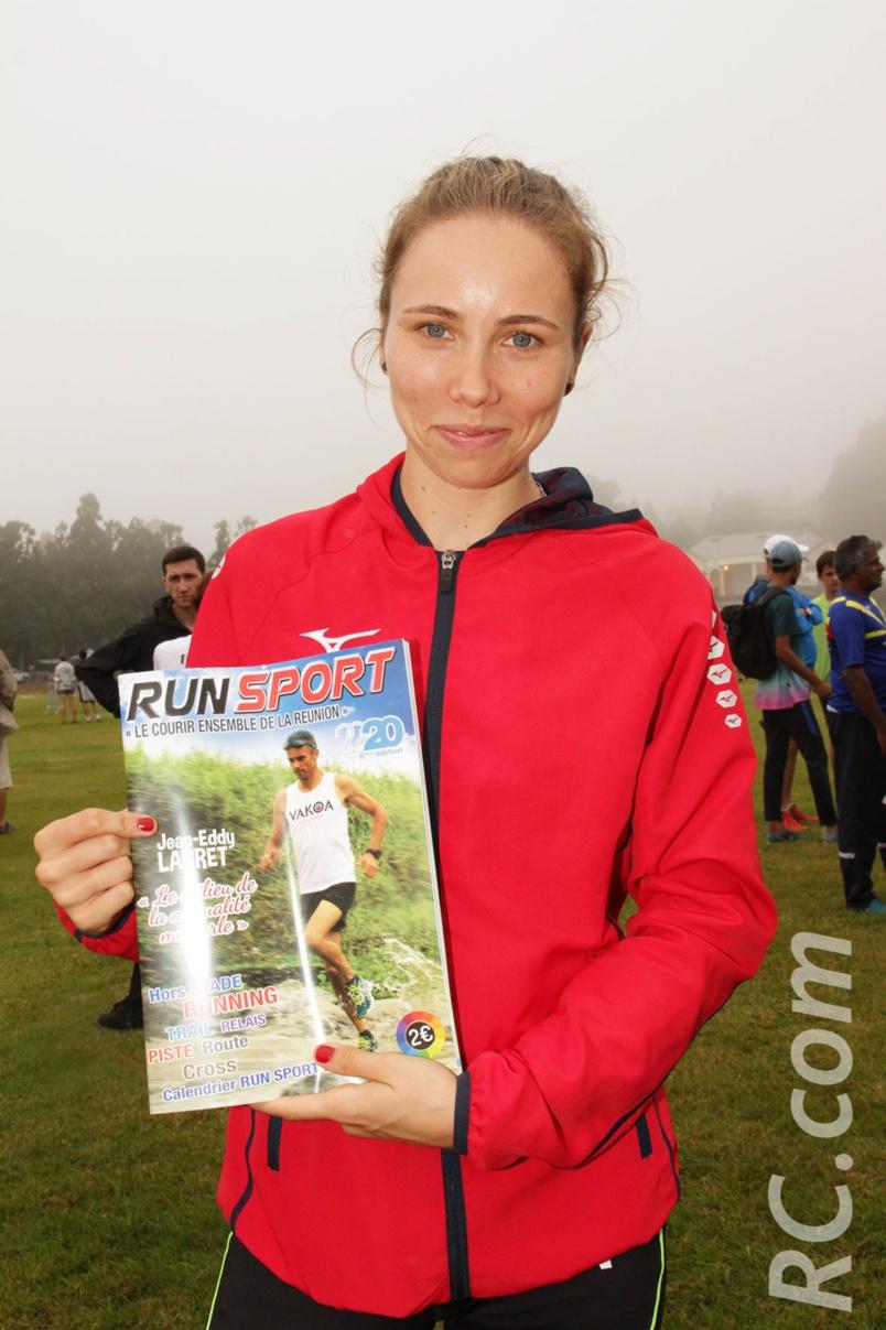 Charlotte Halé qui habite le Sud Sauvage, est une athlète en devenir