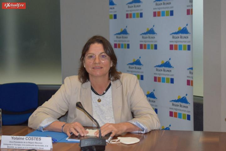 Yolaine Costes, vice-présidente déléguée à la mobilité