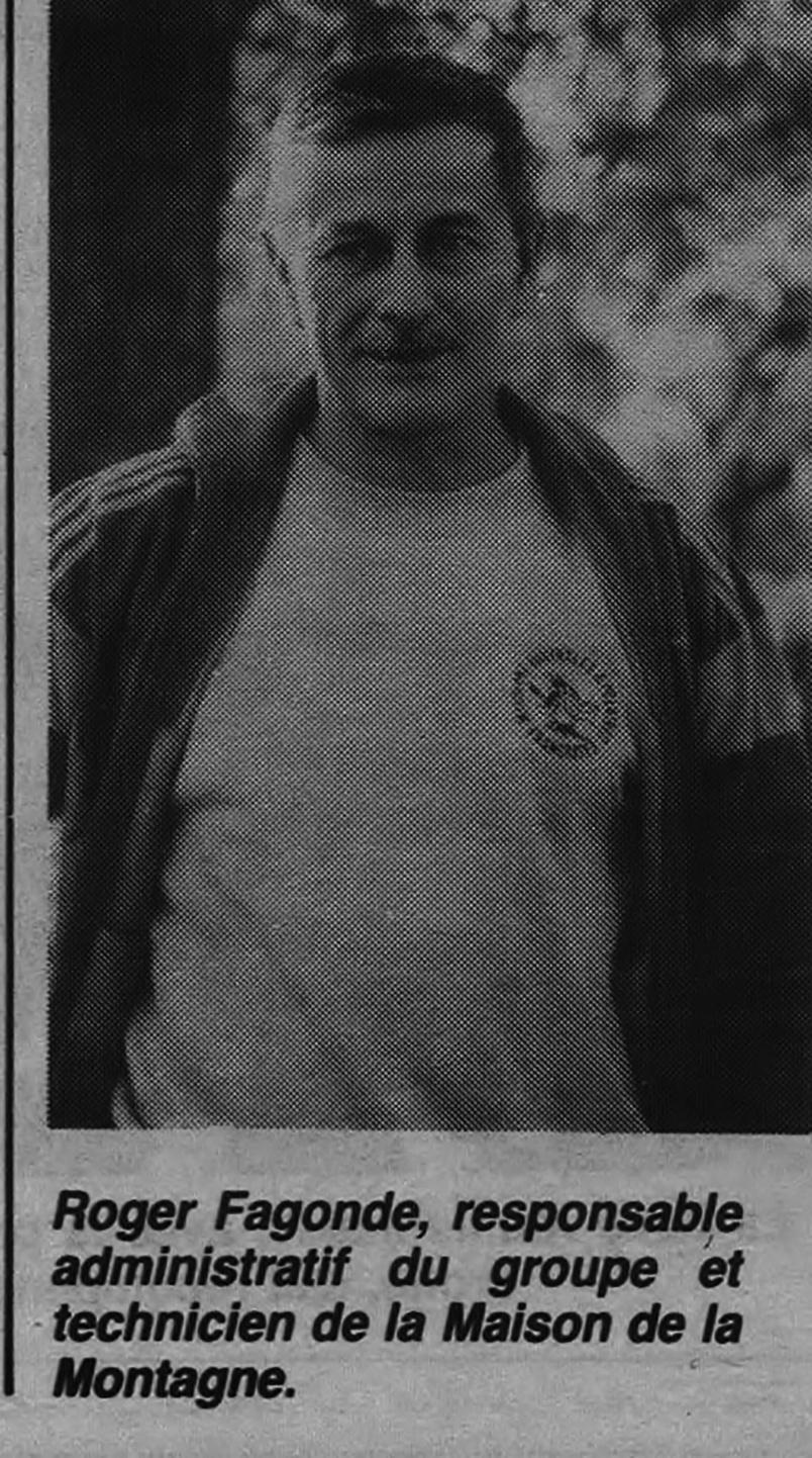 Roger Fagonde, technicien de la Maison de la Montage, connaissait bien Gilberte Accot