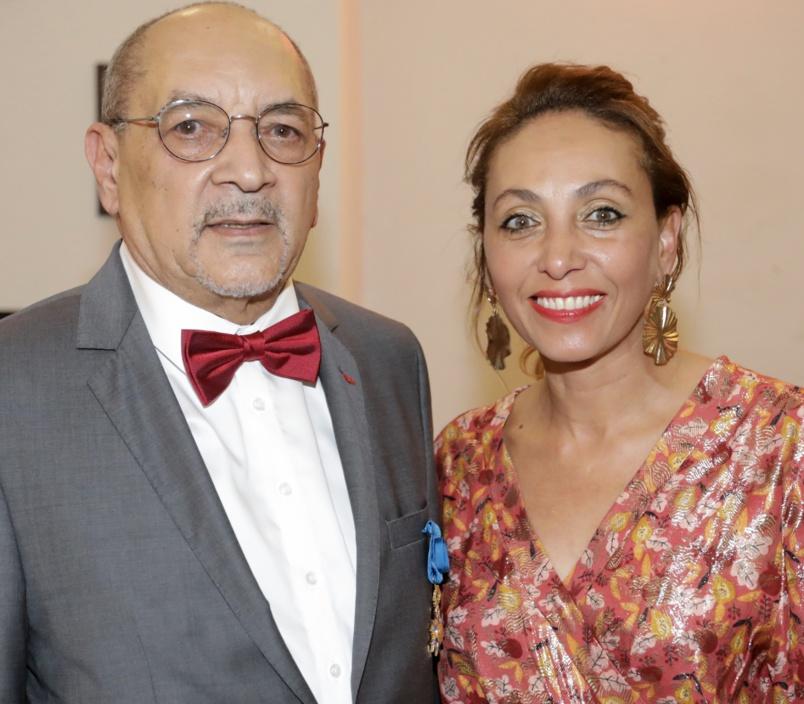 Jean-François Beaulieu et sa fille Corine, l'épouse de Didier Robert