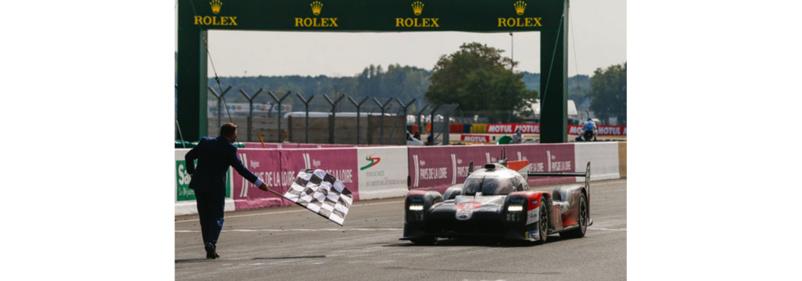 La TS050 Hybrid de Toyota vainqueur des 24 Heures du Mans 2020