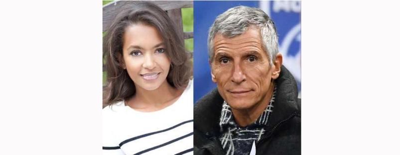 Karine Le Marchand et Nagui, les deux gagnants du sondage