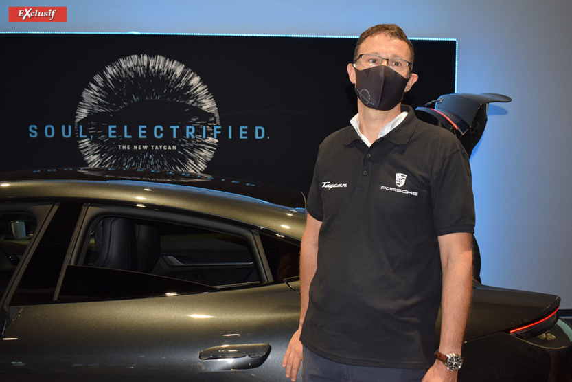 Marc Bergeretti, le directeur général du pôle automobile du Groupe Caillé