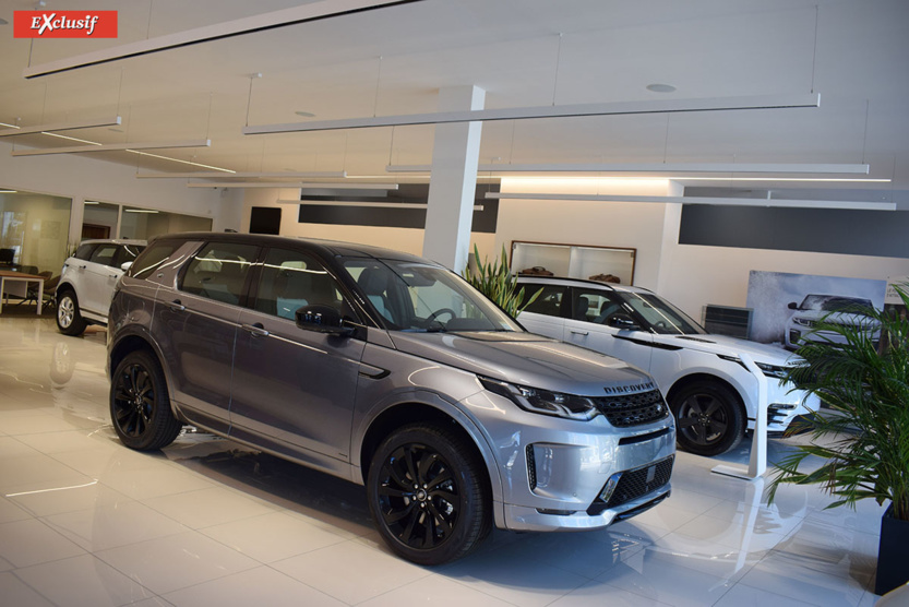 Showroom Land Rover