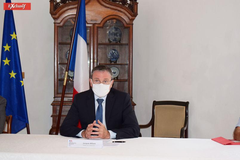 Jacques Billant, Préfet de La Réunion