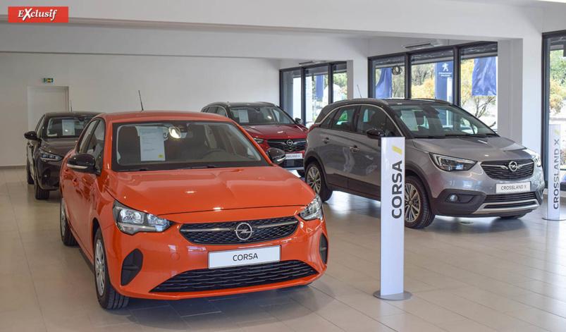 La Corsa reste le fer de lance d'Opel...
