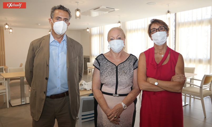 Pierre Chenard, Aude Palant-Vergoz et Martine Ladoucette