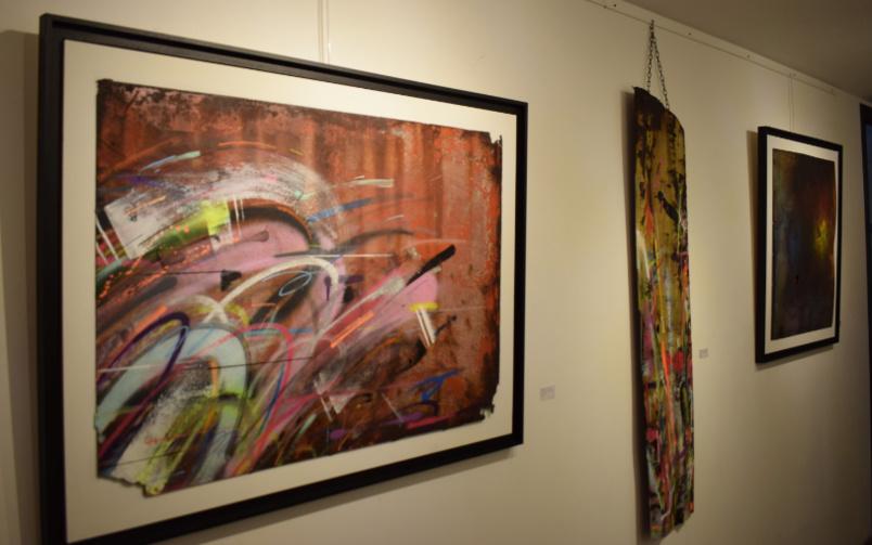 L'expo est visible jusqu'au 12 mars à la Galerie Very Yes à Saint-Pierre