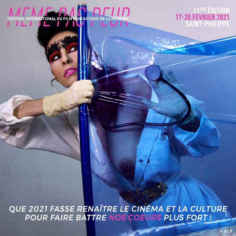 """Le cri du coeur d'Aurélia: """"Que 2021 fasse renaître le cinéma et la culture!"""""""
