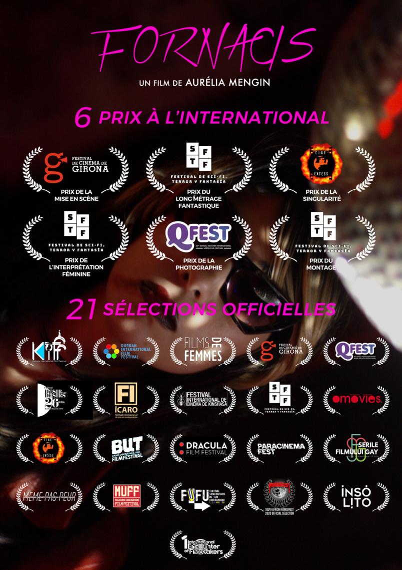 """""""Fornacis"""", le film réalisé par Aurélia Mengin, a connu sa 21ème Sélection Officielle inetrenationale"""