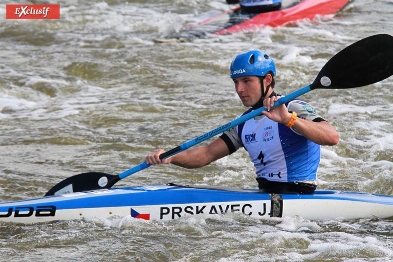 2ème au classement, le Tchèque Jiri Prskavec