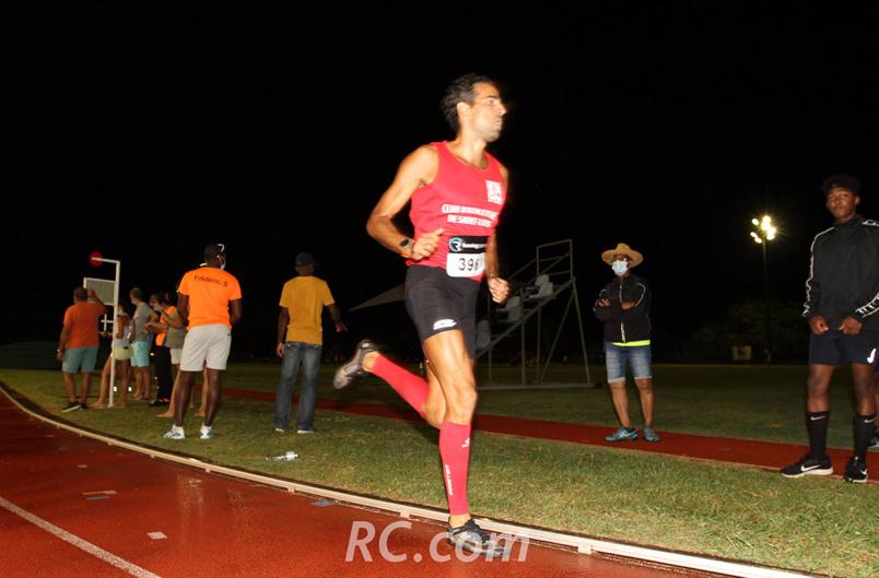 Alexandre Dallenbach vice-champion de La Réunion sur le 3 000 mètres