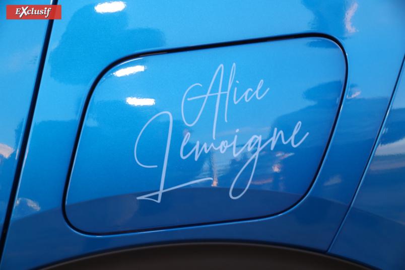 Voiture signée Alice!
