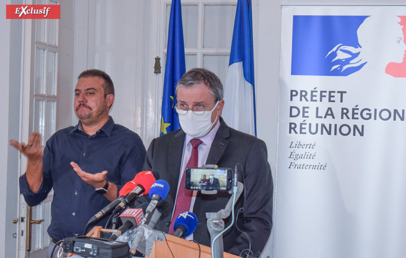 """""""En 15 jours, nous espérons une baisse rapide du taux d'incidence et de la tension hospitalière"""" dit le Préfet"""