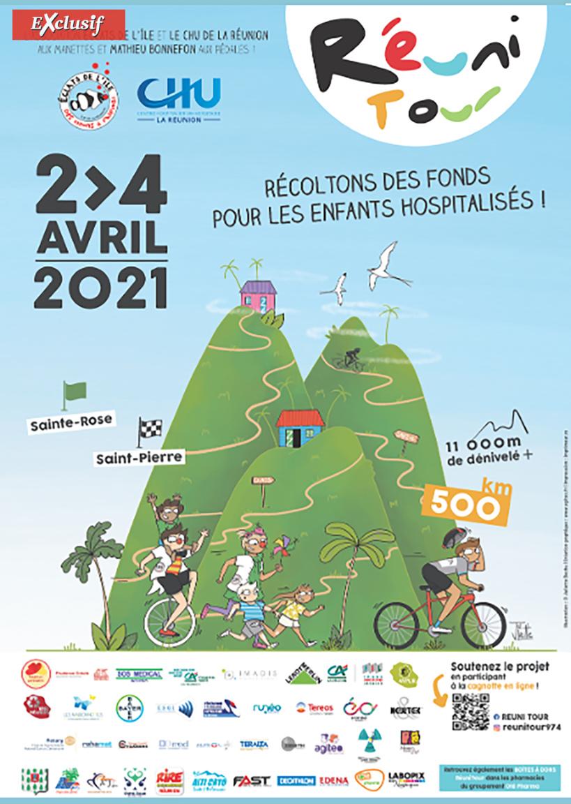 Le Réuni Tour de Mathieu Bonnefon: un défi de 500 km à vélo pendant 3 jours