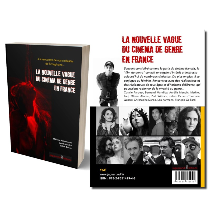 """Aurélia Mengin fait partie de """"la nouvelle vague..."""" La photo de son film fait la couverture du livre sorti récemment"""