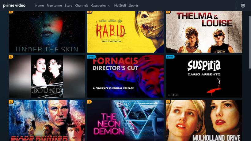 """Sur Amazon Prime Vidéo, """"Fornacis"""" est disponible aux côtés de films très connus"""