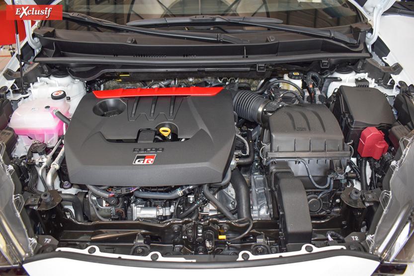 Moteur 3 cylindres 1,6l de 261 ch
